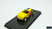 RICKO 1:87 - FORD HOT ROD ROADSTER, YELLOW/DECORATED