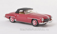 RICKO 1:87 - MERCEDES 190 SL (W121 BII), DARK RED