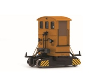 Rivarossi HO (1:87) - Breuer diesel shunter, orange, DR and Diel ektra with decals