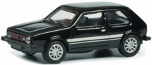 SCHUCO 1:87 - VW GOLF 1 GTI, BLACK