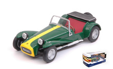 SOLIDO 1:43 - LOTUS SEVEN 1967, GREEN/YELLOW