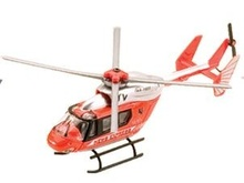 TOYWAY 5'' - HELICOPTER - NEWS EXPRESS - ORANGE/SILVER