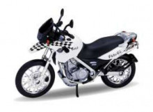 WELLY 1:18 - BMW F650 GS *DAKAR*, WHITE