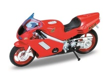 WELLY 1:18 - HONDA NR, RED