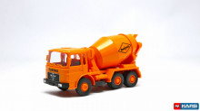 WIKING 1:87 - MAN BETONMISCHER 'READYMIX' 1967, ORANGE