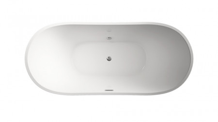 Cada freestanding ovala din acril JUNO 150*72 cm
