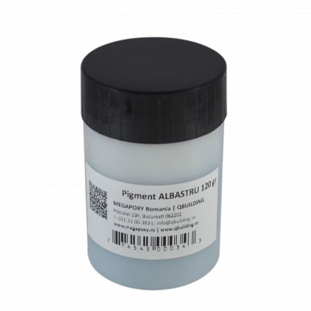 Pigment epoxidic Megapoxy ALBASTRU 200Gr