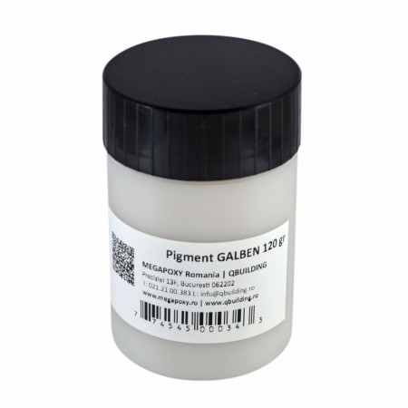 Pigment epoxidic Megapoxy GALBEN 120Gr