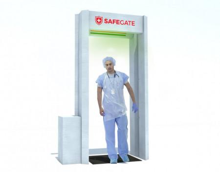 Poarta de dezinfectie prin vaporizare SAFEGATE