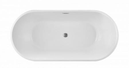 Cada freestanding ovala din acril MINERVA 160*75cm
