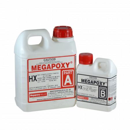 Rasina epoxidica bicomponenta Megapoxy HX 1L