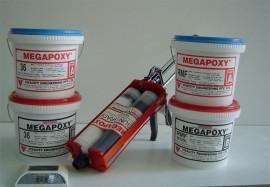 Adeziv epoxidic bicomponent Megapoxy RMF