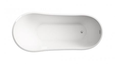 Cada freestanding ovala din acril ATHENA 150*80 cm