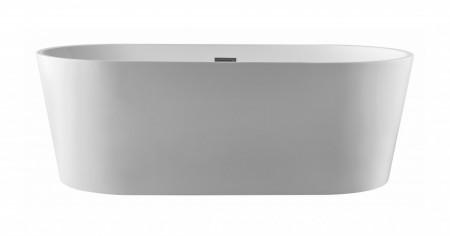 Cada freestanding ovala din acril MINERVA 150*75cm
