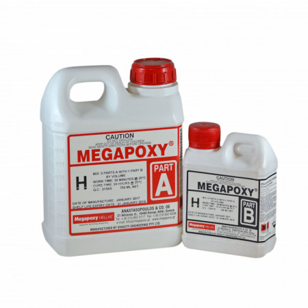 Rasina epoxidica bicomponenta Megapoxy H 4L