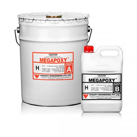 Rasina epoxidica bicomponenta Megapoxy H 20L