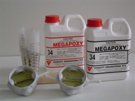 Rasina incapsulari electrice Megapoxy 34 02L