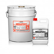 Rasina epoxidica bicomponenta gel Megapoxy HT 4L