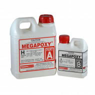 Rasina epoxidica bicomponenta Megapoxy H Rapid 1L