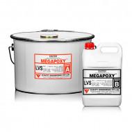 Rasina epoxidica bicomponenta Megapoxy LVS 3L