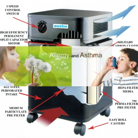 Poze purificator aer Austin Air Allergy Machine