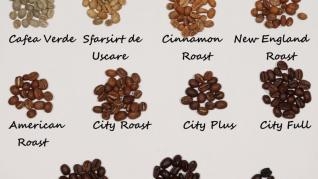 GRADE DE PRAJIRE LA CAFEA (DEGREE OF COFFEE ROASTING)