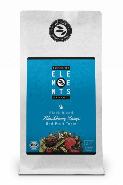 BLACKBERRY TANGO - TEA ORGANIC BLACK BLEND - HANDMADE with LOVE / Red Fruit Taste