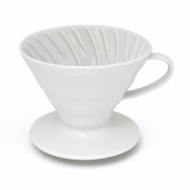 COFFEE DRIPPER V60 TIP 02 (WHITE)