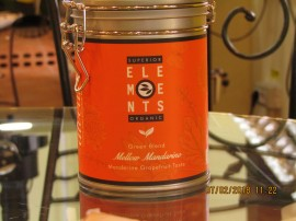 MELLOW MANDARINE - TEA ORGANIC GREEN BLEND HANDMADE - Mandarine Grapefruit Taste cutie metalica