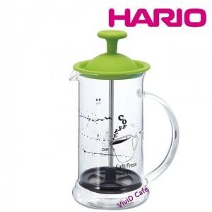 HARIO French press Coffee & Tea 240ml SLIM GREEN