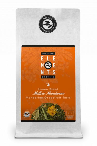 MELLOW MANDARINE - TEA ORGANIC HANDMADE - Mandarine Grapefruit Taste 100g