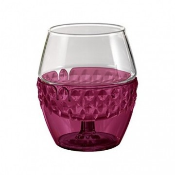 HARIO HOT DRINK GLASS RED / GREEN 260 ml