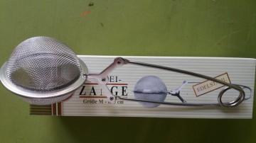 INFUZOR INOX CEAI TIP BILA cu CLESTE, diametru 5 cm, CHA CULT GmbH - GERMANIA