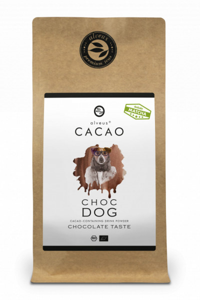 CHOC DOG CACAO ALVEUS - BIO --CONTAINING DRINK POWDER CHOCOCLATE TASTE