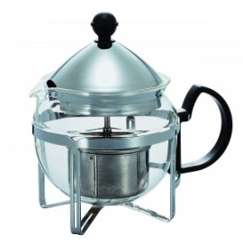 HARIO pull-up TEA MAKER ''CHAOR'' 4 cups  SILVER