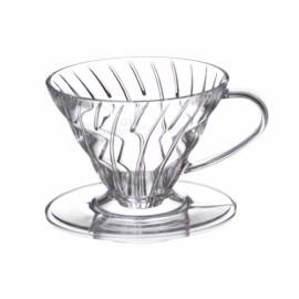 HARIO V60 COFFEE DRIPPER TIP 01 sau TIP 02 CLEAR