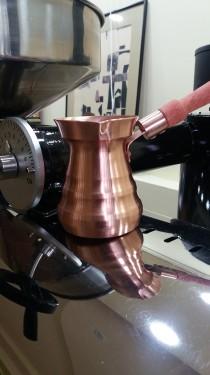 IBRIC din CUPRU pentru cafea turceasca 350 ml