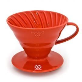 COFFEE DRIPPER V60 TIP 02 (RED)