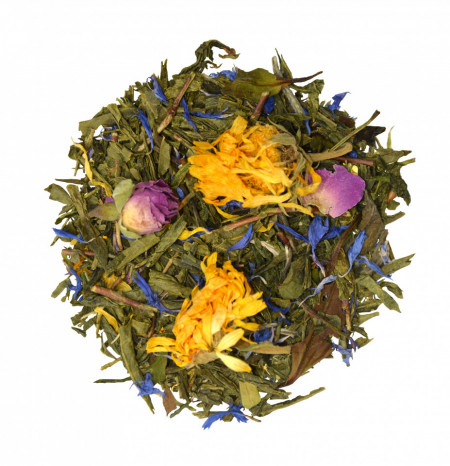 MORNING MELODY - ORGANIC GREEN TEA FRUIT BLEND EXOTIC BERGAMOT TASTE