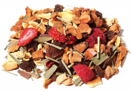 SUMMER MIRACLE ceai amestec de Rooibos, fructe si plante cu gust de ananas