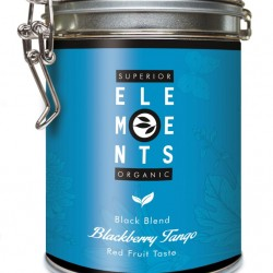 BLACKBERRY TANGO - ORGANIC BLACK BLEND - HANDMADE Red Fruit Taste cutie metalica