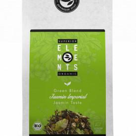 JASMIN IMPERIAL -TEA ORGANIC GREEN BLEND HANDMADE - Jasmine Taste