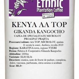 KENYA AA TOP GIKANDA KANGOCHO MICROLOT Arabica coffee100g, crop 2019