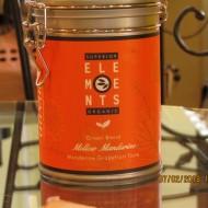 MELLOW MANDARINE SUPERIOR ELEMENTS TEA ORGANIC GREEN BLEND HANDMADE - Mandarine Grapefruit Taste 100G cutie metalica