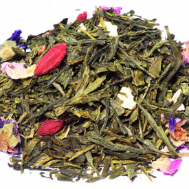 TIBET - ORGANIC GREEN TEA FRUIT BLEND GOJIBERRY TANGERINE TASTE