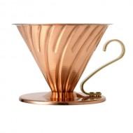 COFFEE DRIPPER V60 COPPER TIP 02