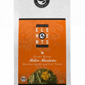 MELLOW MANDARINE SUPERIOR ELEMENTS TEA ORGANIC HANDMADE - Mandarine Grapefruit Taste 100g PLIC