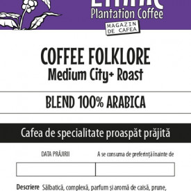 COFFEE FOLKLORE 100% Arabica blend Medium City Roast