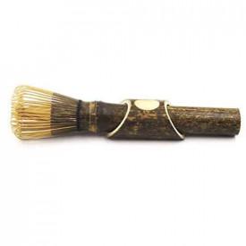 Pamatuf negru (maturica) din bambus pentru ceai Matcha / Chasen Matcha