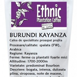 Cafea de specialitate BURUNDI Kayanza Fully Washed Arabica proaspat prajita